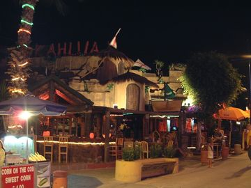 Ayia Napa by night