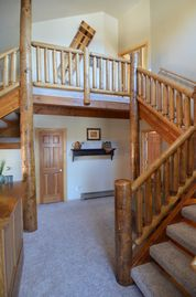 Park City house rental - Mail hall and entrance