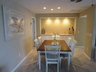 Vacation Homes in Marco Island house photo - Dining Room table with Wet Bar (seating for 8)