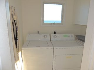 Kure Beach house photo - Laundry Room with ocean view