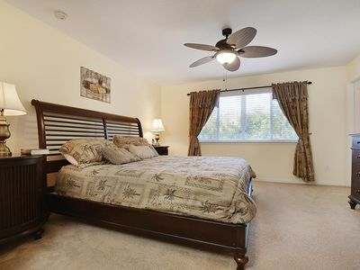 SPACIOUS       2400 SQ FT         SOUTH FACING HOME POOL & SPA, WIFI - Upstairs King Master with Attached Bath -  2014 Photo