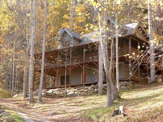 Hot Springs cabin photo - Welcome to the Falling Waters Cabin.