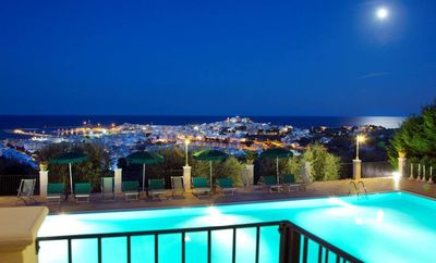apartment in 'residence Chiesiola Vieste' with breathtaking sea view!!!