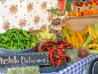 Visit the Taos Farmers Market on Saturday mornings! - Taos house vacation rental photo