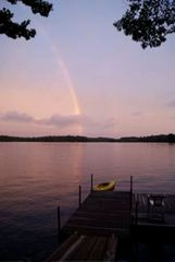 Casco house photo - Sunset rainbow!