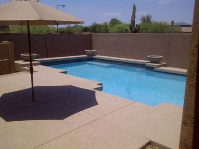 Beautiful 4 bedroom 3 bathroom home with private pool
