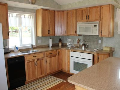 Recently remodeled kitchen well suited for cooking
