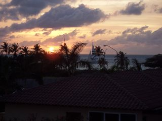 Aruba condo photo - Sunset from our terrace