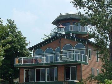Michigan City house rental - Enjoy panoramic views of Lake Michigan.