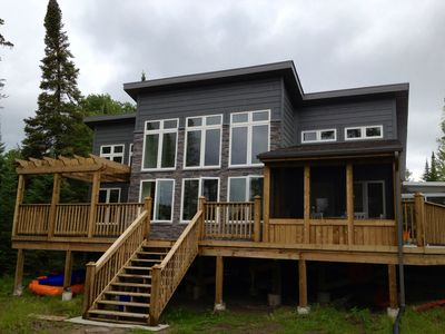 Lakefront Cottage on Beautiful Lower Black Sturgeon Lake