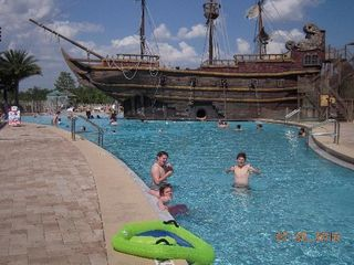 Lake Buena Vista condo photo - 'Pirate's Plunge' Pool slide
