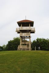 Pipestem cabin photo - Lookout tower in the State Park