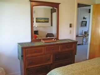 Truro house photo - Dresser and mirror in bedroom # 3