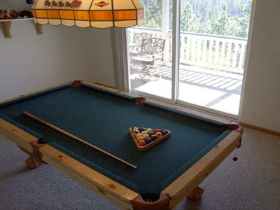 Big Bear Lake house rental - Game Room