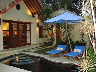 View from your gazebo, completely private. - Candidasa villa vacation rental photo