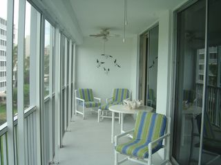 Vanderbilt Beach condo photo - Large Lanai