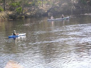 Suwannee River house photo - Great way to enjoy the many springs that are in this area
