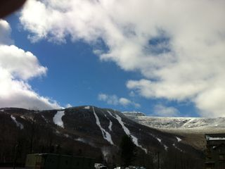 Stowe condo photo - View at Mt Mansfield