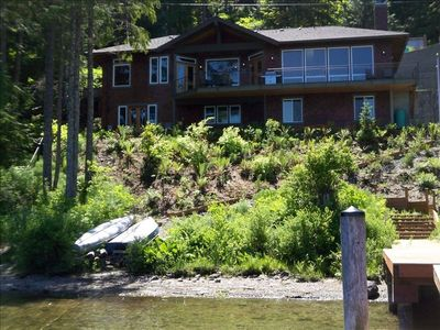 Mount Vernon house rental - The Lodge on Lake Cavanaugh