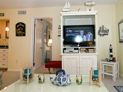 Folly Field villa rental - Great New 37 Inch HD flat screen with stereo with MP3 and games and books too!
