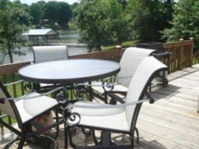 Lake Norman house rental - Outdoor dining