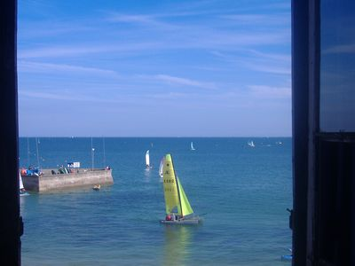 CARNAC BEACH - APARTMENT 2 ROOMS - FACING THE SEA and Yachting Club