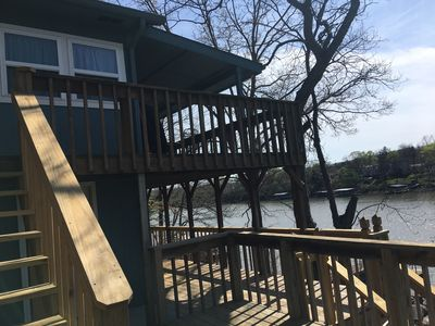 Amanda's Hideaway ( Water Front Property with a dock)w/WIFI