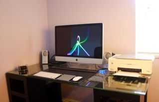 Crestwynd Bay townhome photo - 27 Inch Imac and printer