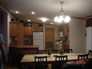 Wisconsin Dells cabin photo - Kitchen