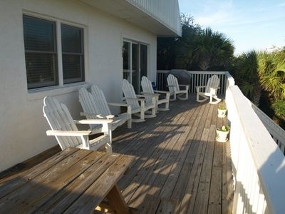 Sea Nook Front deck