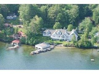 Gilford house photo - Aerial view of home on Veasey Shores