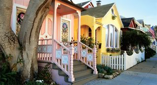 Pacific Grove house photo - Pacific Grove is famous for its Victorian architecture