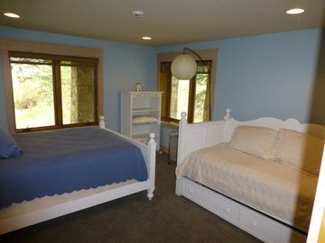 Third Bedroom with Queen and Trundle Beds