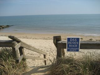 Private beach - Dennisport cottage vacation rental photo