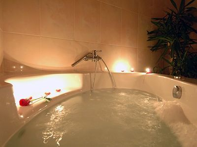 Boninovo villa rental - Relaxing bathtub