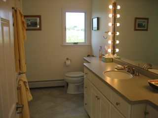 Moody Beach house photo - One of Four Bathrooms--Private Shower/Tub is Around Corner of Bath