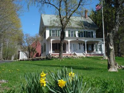 The Pickering House in Spring.  Summer is on the way!