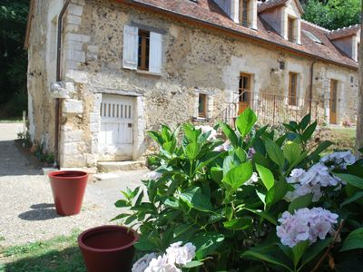 Normandy countryside (Perche) : two 18 th century houses - High standard