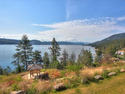 Another view of pristine Lake Okanagan from the patio/deck.
