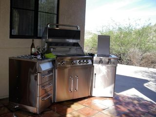 Goodyear house photo - New Jennair (outdoor kitchen) grill w/2 sideburner