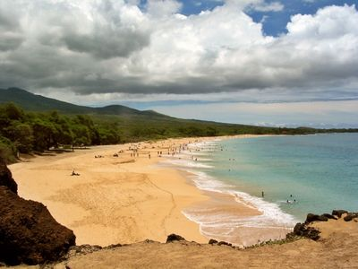 Makena beach is one of the best of Hawaii Islands-just a short drive away.