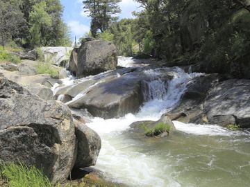 Oakhurst house rental - Beautiful views of the cascading river