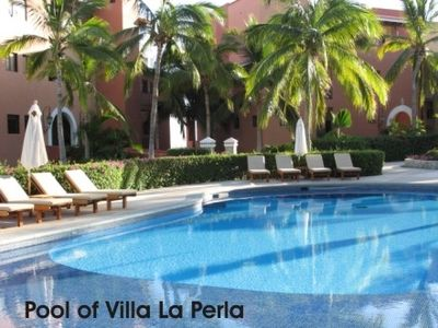 Pool Directly behind Villa La Perla