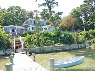 View of Home from the Private Dock.