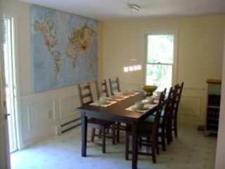 Brewster house photo - See the world in the large, bright dining room!