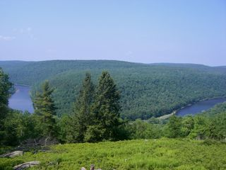 Masthope chalet photo - Fabulous Delaware river views!