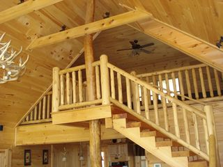 Maggie Valley cabin photo - Stairs to loft