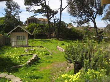 Pacific Grove house rental - Half an acre of grounds, with the ocean beyond