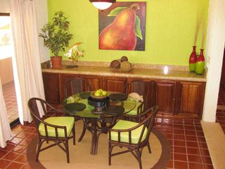 San Jose del Cabo condo photo - Dining area with walkout to patio with panoramic views