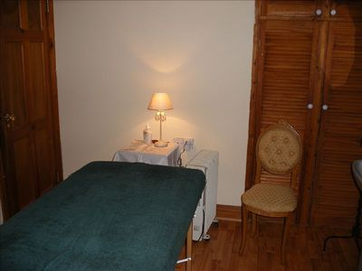 Therapy treatment room at Mountshannon cottage